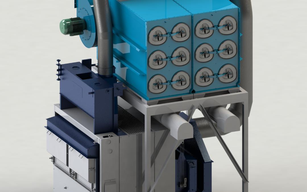 Machines avec aspiration et filtration autonome