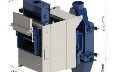 Le nettoyeur séparateur SNST 1150 à caissons superposés