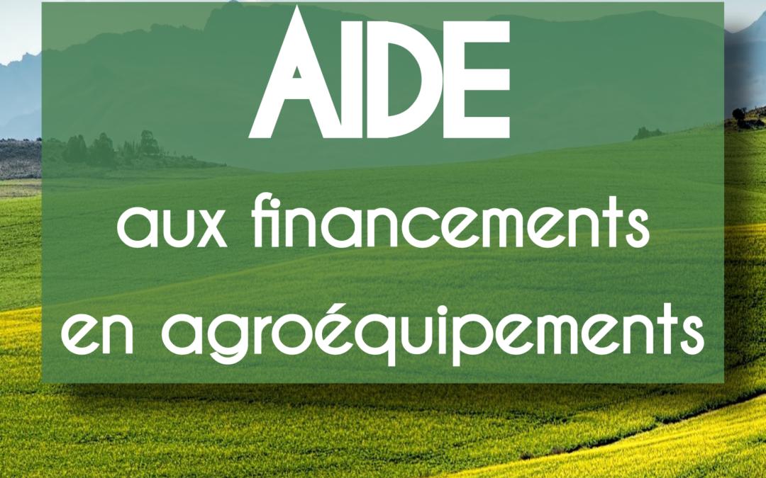 Plan protéines : aide aux financements en agroéquipements
